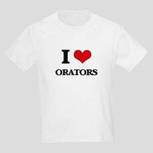 I Love Orators T-Shirt