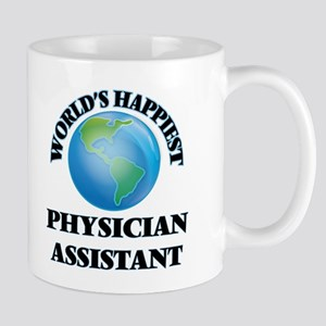 World's Happiest Physician Assistant Mugs