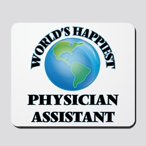 World's Happiest Physician Assistant Mousepad