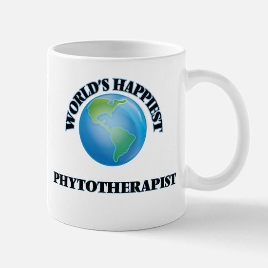 World's Happiest Phytotherapist Mugs