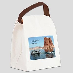 Lake Powell, Arizona, USA (captio Canvas Lunch Bag