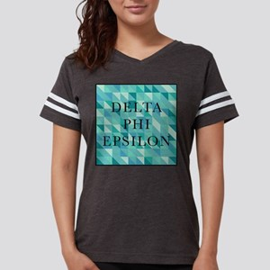 Delta Phi Epsilon Geometric Womens Football Shirt