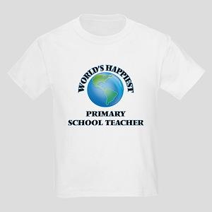 World's Happiest Primary School Teacher T-Shirt