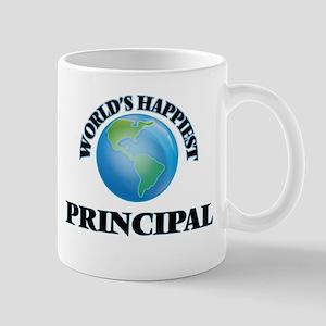 World's Happiest Principal Mugs