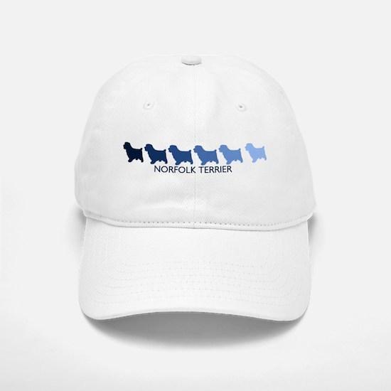 Norfolk Terrier (blue color s Baseball Baseball Cap