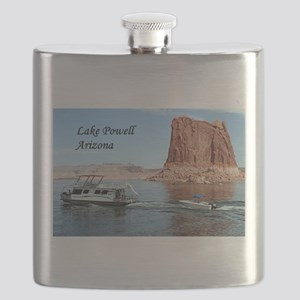 Lake Powell, Arizona, USA (caption) 1 Flask