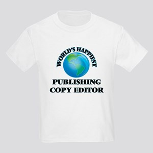 World's Happiest Publishing Copy Editor T-Shirt