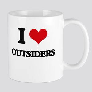 I Love Outsiders Mugs