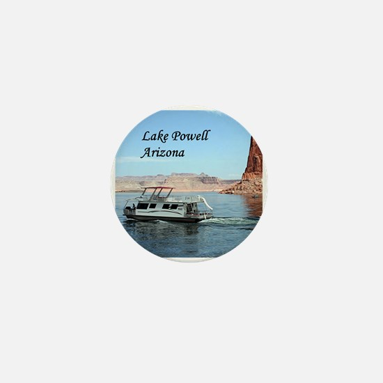 Lake Powell, Arizona, USA (caption) 1 Mini Button