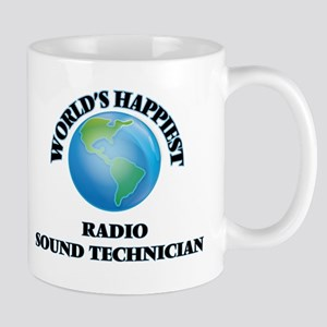 World's Happiest Radio Sound Technician Mugs