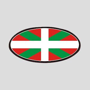 The Ikurriña, Basque flag Patches