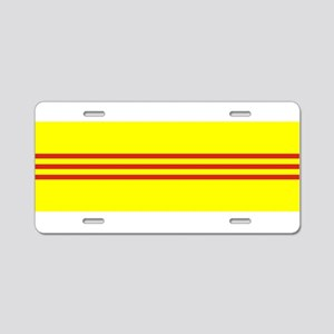 South Vietnam flag Aluminum License Plate