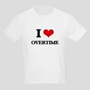 I Love Overtime T-Shirt