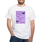 Random Kindness White T-Shirt