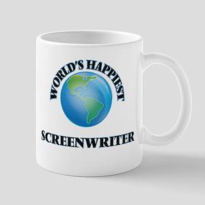 World's Happiest Screenwriter Mugs