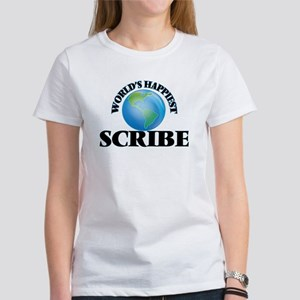 World's Happiest Scribe T-Shirt