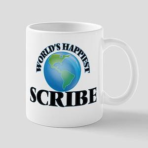 World's Happiest Scribe Mugs