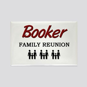Booker Family Reunion Rectangle Magnet