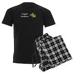 Veggie Goddess Men's Dark Pajamas