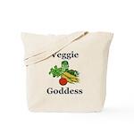 Veggie Goddess Tote Bag