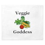 Veggie Goddess King Duvet