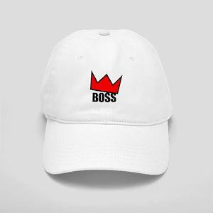 BOSS Red Crown Cap