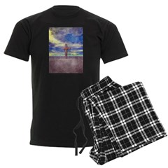 Christian Cross Landscape Pajamas