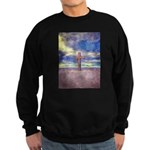 Christian Cross Landscape Sweatshirt