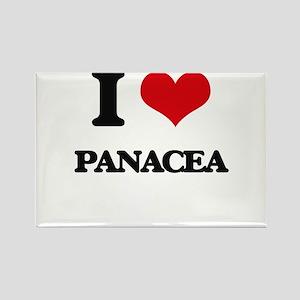 I Love Panacea Magnets