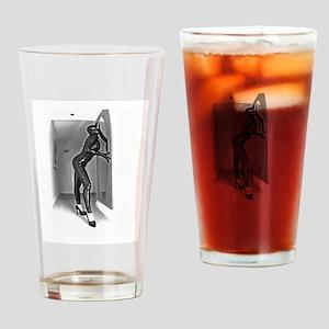 BDSM Dominatrix Drinking Glass