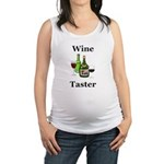 Wine Taster Maternity Tank Top