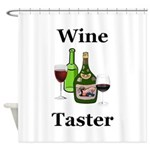 Wine Taster Shower Curtain