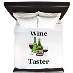 Wine Taster King Duvet