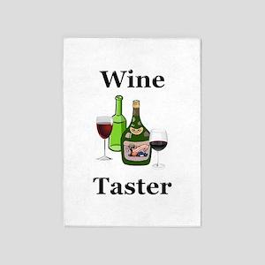 Wine Taster 5'x7'Area Rug