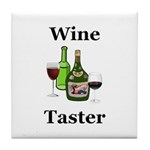Wine Taster Tile Coaster
