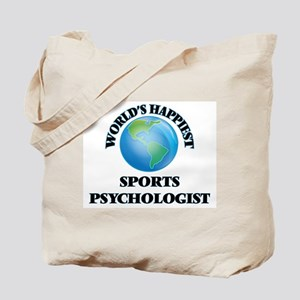 World's Happiest Sports Psychologist Tote Bag