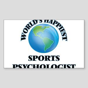 World's Happiest Sports Psychologist Sticker