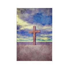 Christian Cross Landscape Magnets