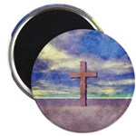 Christian Cross Landscape Magnets
