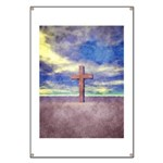 Christian Cross Landscape Banner