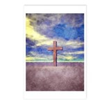 Christian Cross Landscape Postcards (Package of 8)