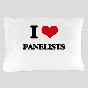 I Love Panelists Pillow Case