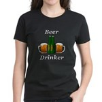 Beer Drinker Women's Dark T-Shirt