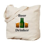Beer Drinker Tote Bag