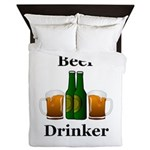 Beer Drinker Queen Duvet