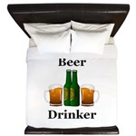 Beer Drinker King Duvet