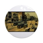 ca. 1900 Canal Street ~ Ornament (Round)