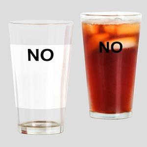No Drinking Glass