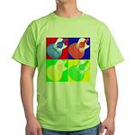acoustic pop Green T-Shirt