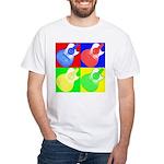 acoustic pop White T-Shirt